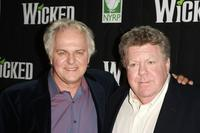 PJ Benjamin and George Wendt at the 5th anniversary of
