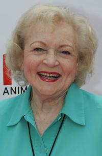 Betty White at the Old Navy Kicks Off Nationwide Search for New Mascot.