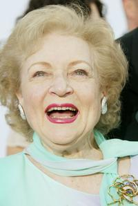 Betty White at the 2nd Annual TV Land Awards.