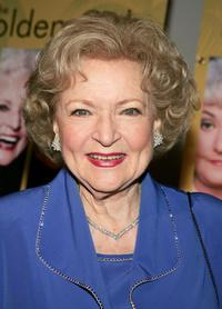 Betty White at the DVD Release party for