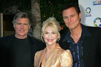 Treat Williams, Dee Wallace-Stone and Greg Evigan at the weSPARKLE Take V Broadway/Comedy Tonight.
