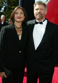Pam Van Sant and Treat Williams at the 56th Annual Primetime Emmy Awards.