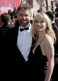 Treat Williams and Anne Heche at the 56th Annual Primetime Emmy Awards.