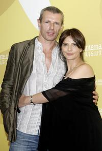 Lambert Wilson and Laura Morante at the photocall to promote