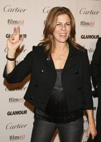 Rita Wilson at the Glamour Reel Moments.