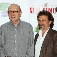 Neil Simon and Dennis Boutsikaris at the photocall of