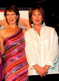 Celia Imrie and Penelope Wilton at the premiere of