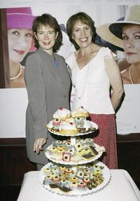Celia Imrie and Penelope Wilton at the Electric Cinema to promote