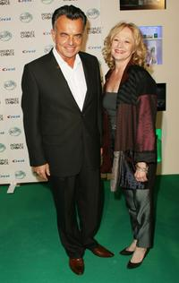 Ray Wise and Guest at the 34th Annual People's Choice Awards Nominations Announcements and Party.