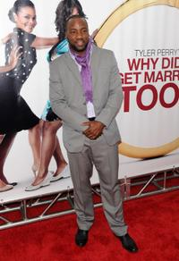 Malik Yoba at the special screening of