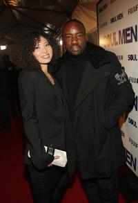 Jamie Hamada and Malik Yoba at the world premiere of