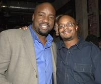 Malik Yoba and Todd Bridges at the Fox Winter TCA Party.