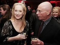 Alan Arkin and Meryl Streep at the premiere of
