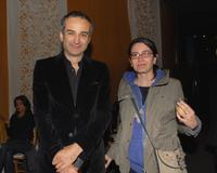 Olivier Assayas and Guest at the Los Angeles premiere of