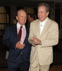 Warren Beatty and George Stevens Jr. at the AFI's 40th Anniversary Celebration Lunch.