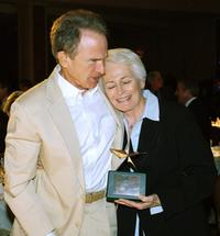 Warren Beatty and Jean Pickler at the AFI's 40th Anniversary Celebration Lunch.