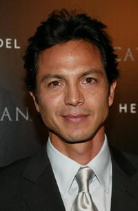 "Benjamin Bratt at a ""Catwoman"" inspired party in New York City."