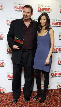 Shane Black and Thandie Newton at the Sony Ericsson Empire Film Awards 2006.