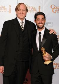 T-Bone Burnett and Ryan Bingham at the 67th Annual Golden Globe Awards.
