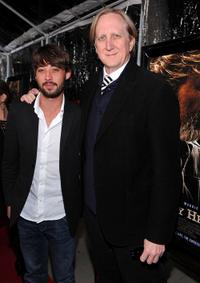 Ryan Bingham and T-Bone Burnett at the premiere of