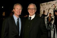 Chris McGurk and T-Bone Burnett at the premiere of