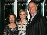 Keith Carradine, Martha Plimpton and Shelly Plimpton at New York at the after party for the opening night of the Broadway play