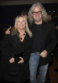 Billy Connolly and his partner at the Times BFI 51st London Film Festival