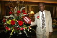 Bill Cosby after he was announced as a Grand Marshall to lead the 2003 Rose Parade.