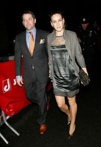 Matthew Broderick and Sarah Jessica Parker at the opening night of