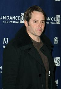 Matthew Broderick at the 2008 Sundance Film Festival for the premiere of
