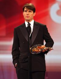 Tom Cruise at the Bambi media prize awards.
