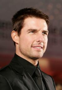 Tom Cruise at the premiere of