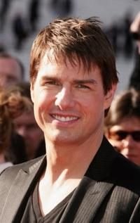 Tom Cruise at the Paris premiere of