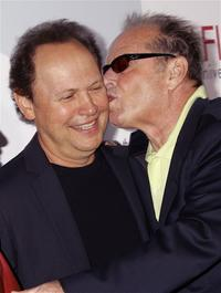 Billy Crystal and Jack Nicholson at the AFIs 40th Anniversary celebration.