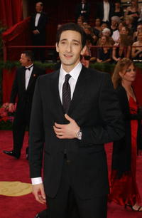 Adrien Brody at the 76th Annual Academy Awards in Hollywood, California.