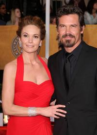 Diane Lane and Josh Brolin at the 15th Annual Screen Actors Guild Awards.