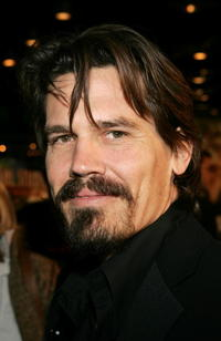 """Josh Brolin at the premiere of """"The Wedding Date"""" in Los Angeles."""