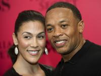 Nicole and Dr. Dre at the 2009 Victoria's Secret Fashion Show.