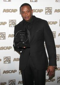 Dr. Dre at the 23rd Annual ASCAP Rhythm and Soul Music Awards.