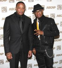 Dr. Dre and Ne-Yo at the 23rd Annual ASCAP Rhythm and Soul Music Awards.