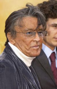 Robert Evans at the premiere of