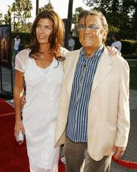 Robert Evans and Victoria arrive at the premiere of