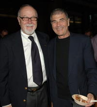 Gil Cates and Robert Forster at the 12th annual City of Lights, City of Angels French Film Festival.