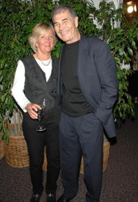 Anne Francois and Robert Forster at the 12th annual City of Lights, City of Angels French Film Festival.