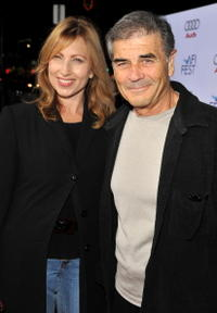 Denise Grayson and Robert Forster at the 2008 AFI FEST centerpiece gala screening of