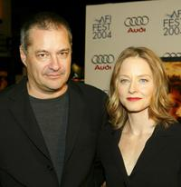 Jean-Pierre Jeunet and Jodie Foster at the screening of