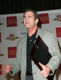Mel Gibson at the Latin Business Associations Visionary Award.