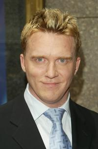 Anthony Michael Hall at the NBC Primetime Preview.