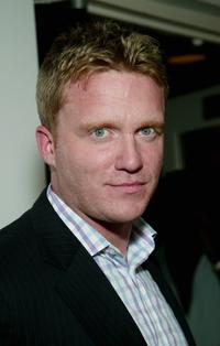 Anthony Michael Hall at the USA Network's opening night party of the 2003 U.S. Open.
