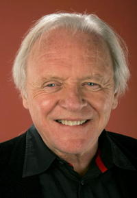 Anthony Hopkins in a portrait for